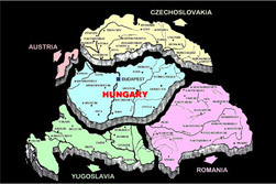 Chopping Hungary Up by the 1920 Peace Dictate of Trianon